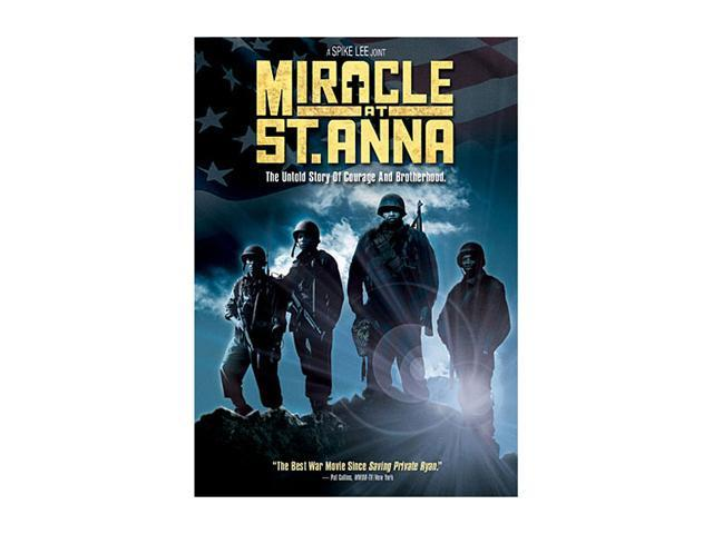Miracle at St. Anna (DVD / WS 2.35 / SP-FR-Both) Derek Luke; Michael Ealy; Laz Alonso; Omar Benson Miller; John Turturro; John Leguizamo; Joseph Gordon-Levitt; Pierfrancesco Favino; Matteo Sciabordi;