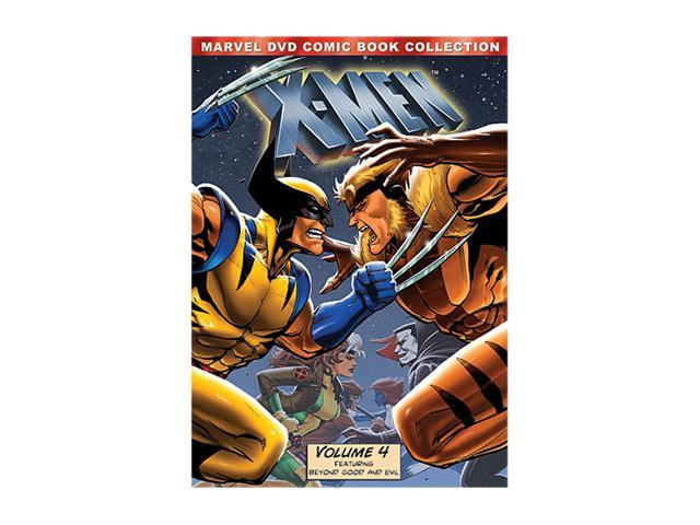 X-Men, Volume 4 (Marvel DVD Comic Book Collection) Iona Morris, Lenore Zann, Alison Seasly-Smith