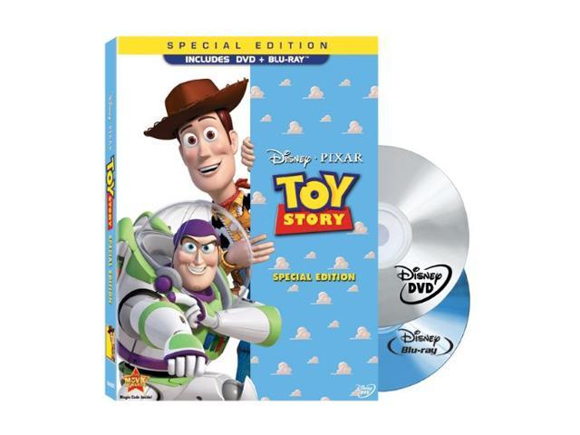 Toy Story (2-Disc Special Edition Blu-ray / DVD Combo With Blu-ray Packaging) Tom Hanks (voice); Tim Allen (voice); Don Rickles (voice); Jim Varney (voice); John Ratzenberger (voice); Annie Potts (voi