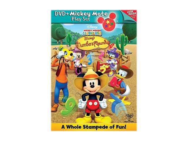 Mickey Mouse Clubhouse Mickey's Numbers Roundup (Remote + DVD)