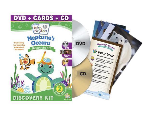 Baby Einstein Discovery Kit: Neptune's Oceans (Music CD + DVD)