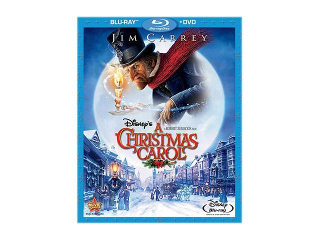 Disney's A Christmas Carol (Blu-ray & DVD Combo/WS) Jim Carrey (voice), Gary Oldman (voice ...