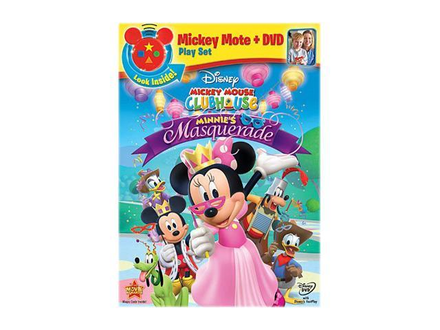 Mickey Mouse Clubhouse: Minnie's Masquerade (Remote + DVD)