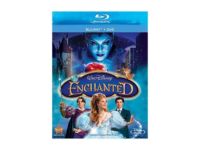 Enchanted (DVD + Blu-ray) Amy Adams, Patrick Dempsey, James Marsden, Timothy Spall, Idina Menzel, Rachel Covey, Susan Sarandon, ...