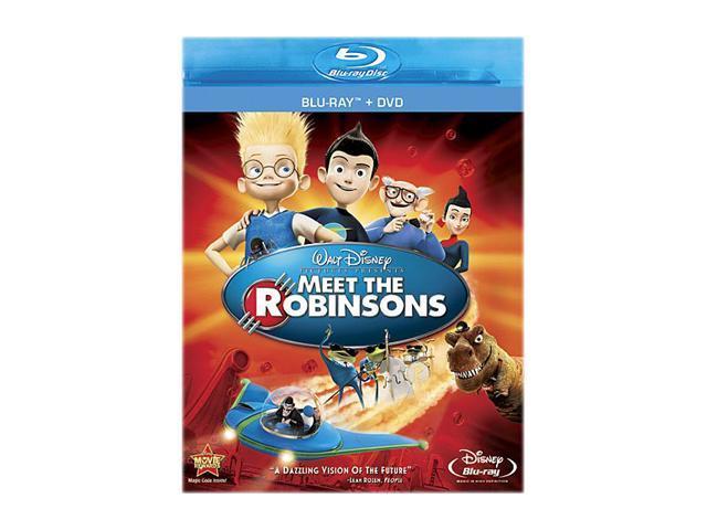 Meet the Robinsons (DVD + Blu-ray) Angela Bassett (voice), Paul Butcher (voice), Jessie Flower (voice), Spencer Fox (voice), Jordan Fry (voice)