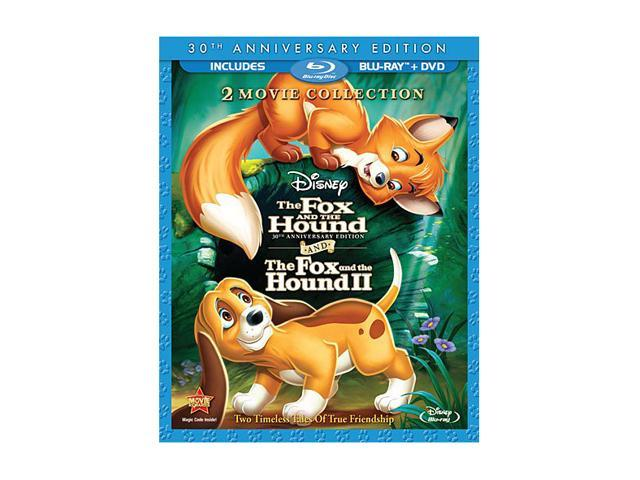 The Fox and the Hound/The Fox and the Hound II (DVD + Blu-ray)