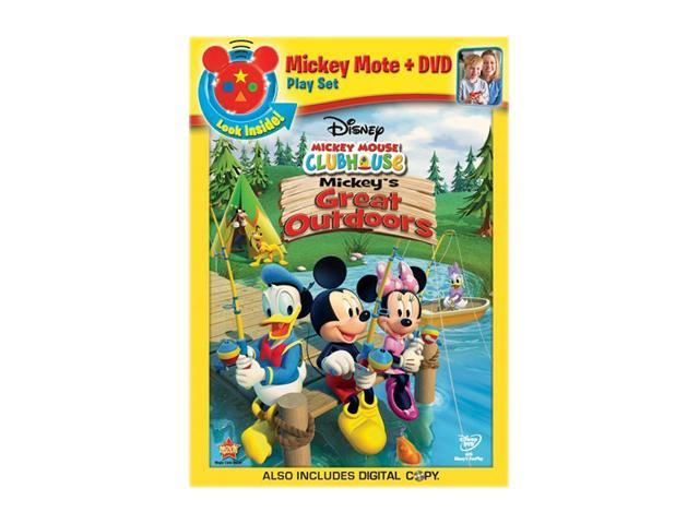 Mickey Mouse Clubhouse: Mickey's Great Outdoors (Remote + DVD)