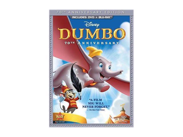 Dumbo (DVD + Blu-ray/FS) Verna Felton (voice), Edward Brophy (voice), Sterling Holloway (voice), Cliff Edwards (voice)