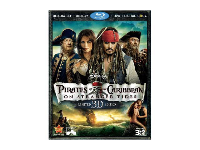 Pirates of the Caribbean: On Stranger Tides (DVD + 3D Blu-ray/WS) Johnny Depp, Penelope Cruz, Geoffrey Rush, Ian McShane, Astrid Berges-Frisbey