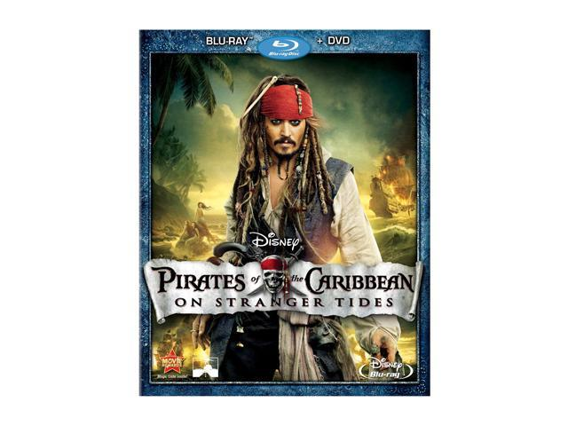Pirates of the Caribbean: On Stranger Tides (DVD + Blu-ray/WS) Johnny Depp, Penelope Cruz, Geoffrey Rush, Ian McShane, Astrid ...