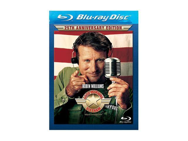 Good Morning, Vietnam (25th Anniversary Edition Blu-ray) Robin Williams, Forest Whitaker, Tung Thanh Tran, Chintara Sukapatana, Bruno Kirby