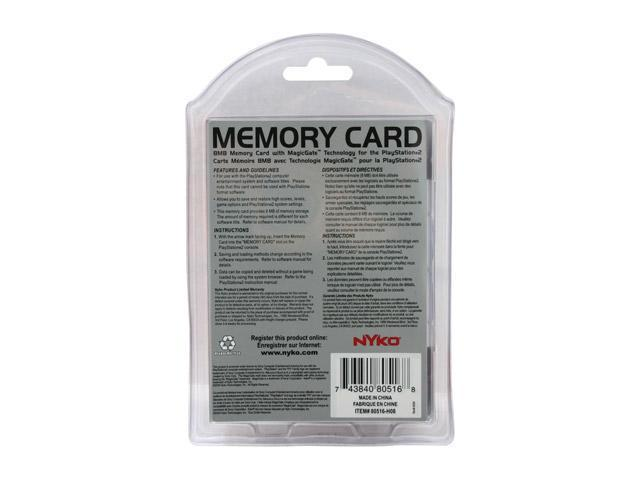 NYKO Memory Card for PlayStation 2