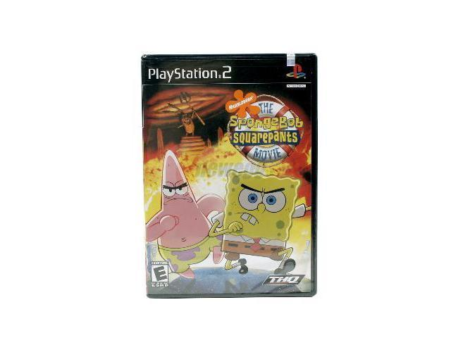 Nickelodeon's The SpongeBob SquarePants Movie Playstation 2 Game THQ