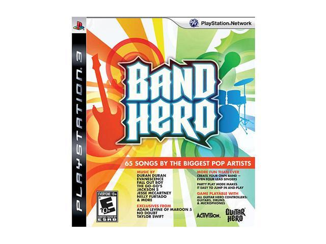 Band Hero (Software Only) Playstation3 Game