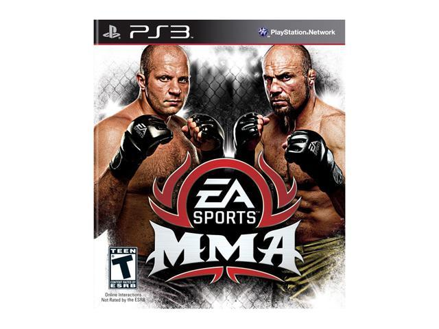 EA Sports MMA Playstation3 Game