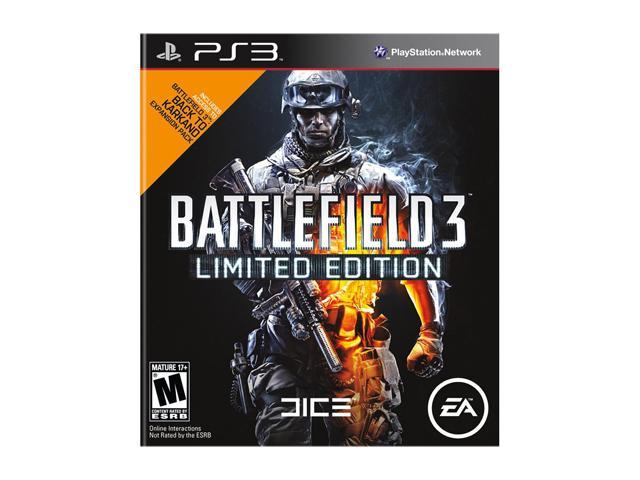 Battlefield 3 Limited Edition Playstation3 Game