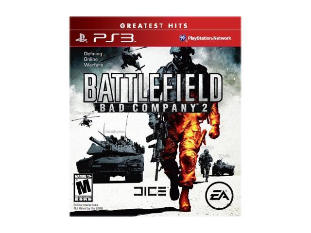 Battlefield Bad Company 2 Greatest Hits Playstation3 Game