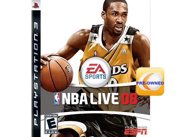 Pre-owned NBA Live 08 PS3