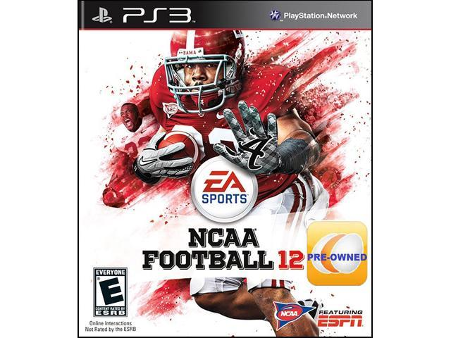 PRE-OWNED NCAA Football 2012 PS3