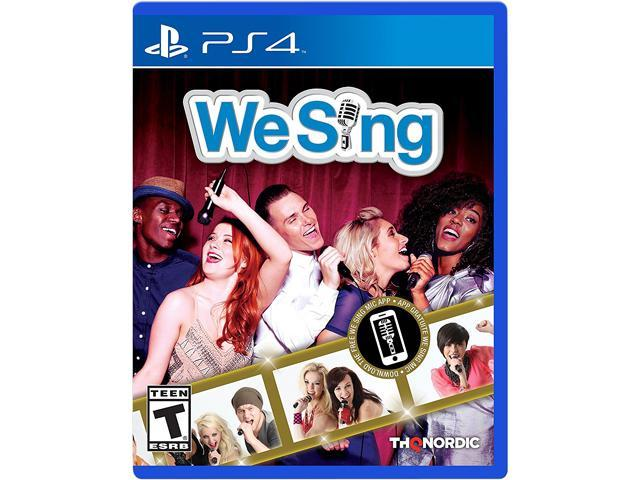 We Sing PS4 Video Games