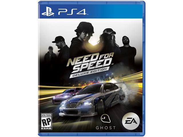 NEED FOR SPEED DELUXE EDITION PS4