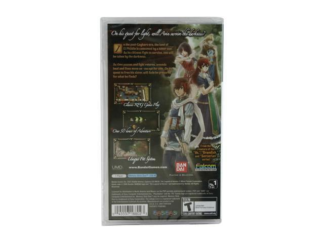 The Legend of Heroes: A Tear of Vermillion PSP Game BANDAI