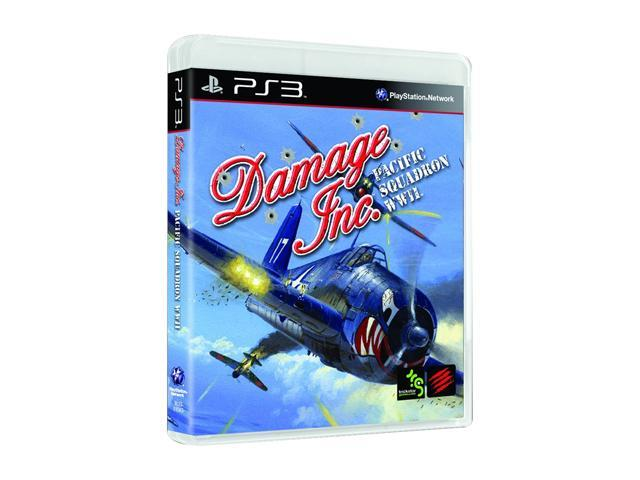 Damage Inc Pacific Squadron Playstation3 Game