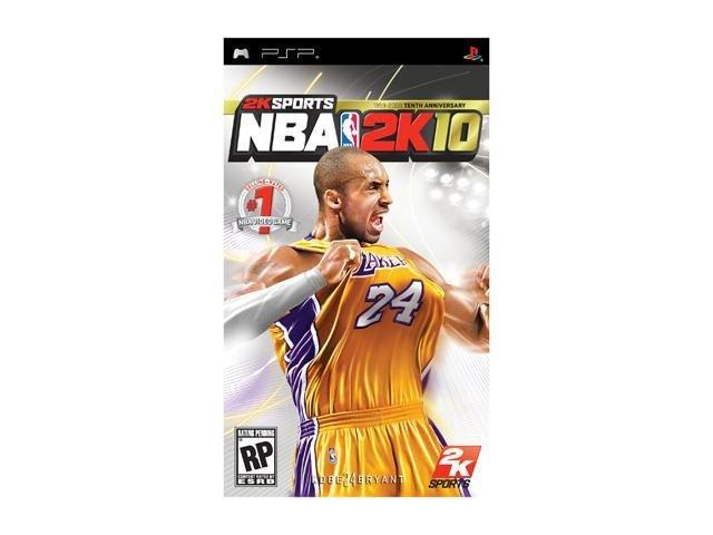 NBA 2k10 PSP Game 2K Games