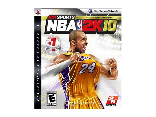 NBA 2k10 Playstation3 Game