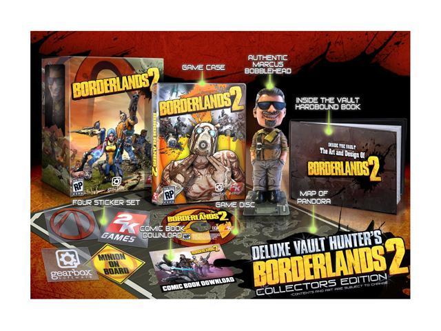 Borderlands 2: Deluxe Vault Hunter's Limited Edition Playstation3 Game