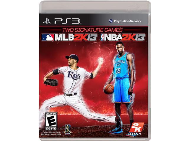2K Sports Combo: MLB 2K13 & NBA 2K13: PS3 game - 2K Games