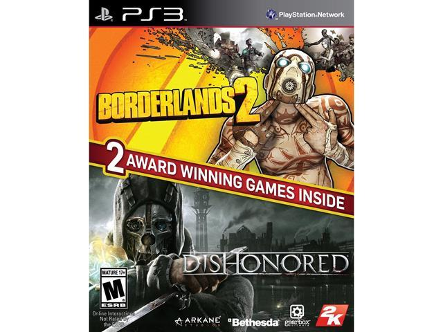 Borderlands 2 & Dishonored Bundle PlayStation 3