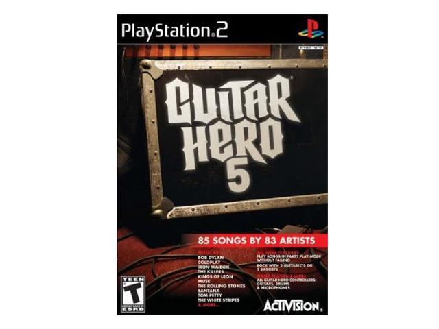 Guitar Hero 5 Software Only Game