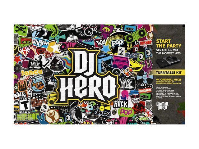 DJ Hero w/Turntable Playstation3 Game