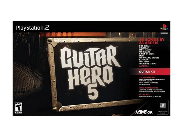 Guitar Hero 5 Guitar Kit Game