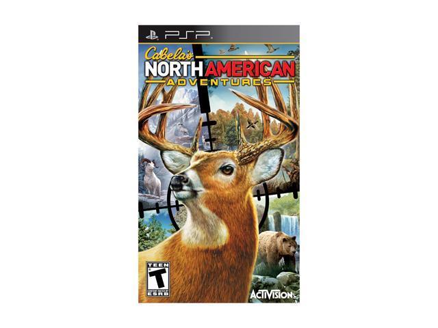Cabela North American Adventures 2011 PSP Game Activision
