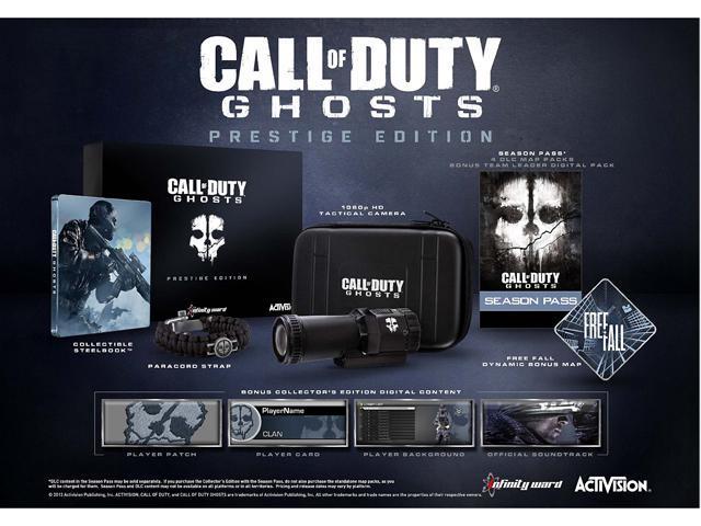 Call Of Duty Ghosts Prestige PlayStation 3