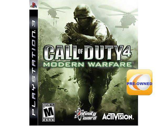 PRE-OWNED Call of Duty 4: Modern Warfare PS3