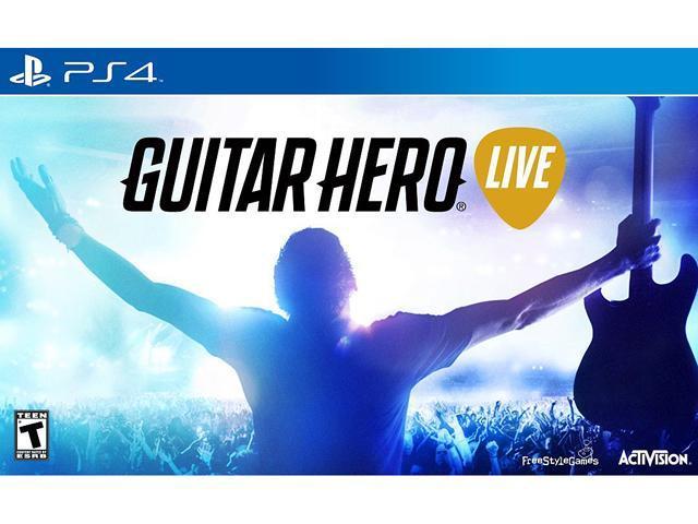 Guitar Hero Live 2 Guitar Bundle Pack PlayStation 4
