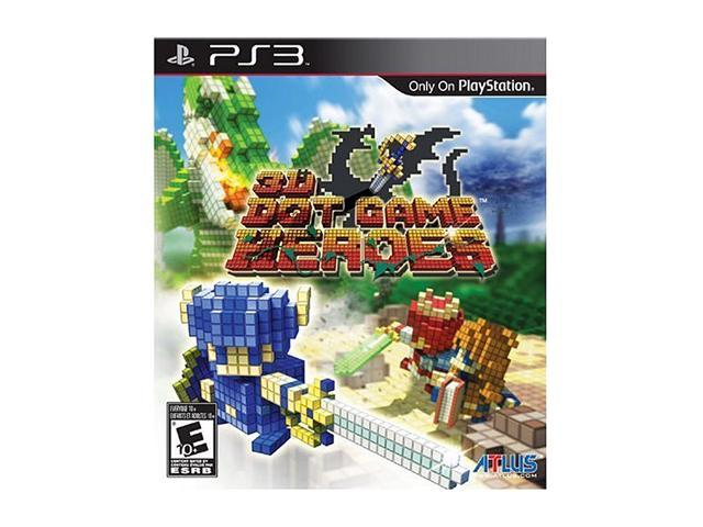 3D Dot Game Heroes Playstation3 Game