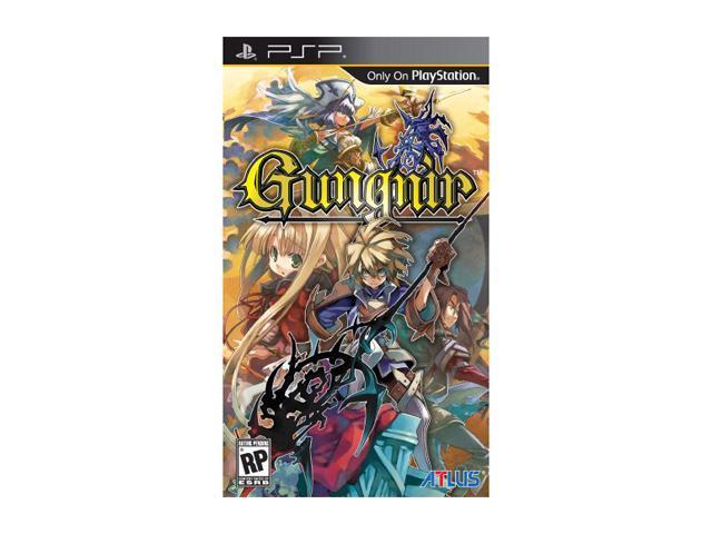 Gungnir PSP Game ATLUS