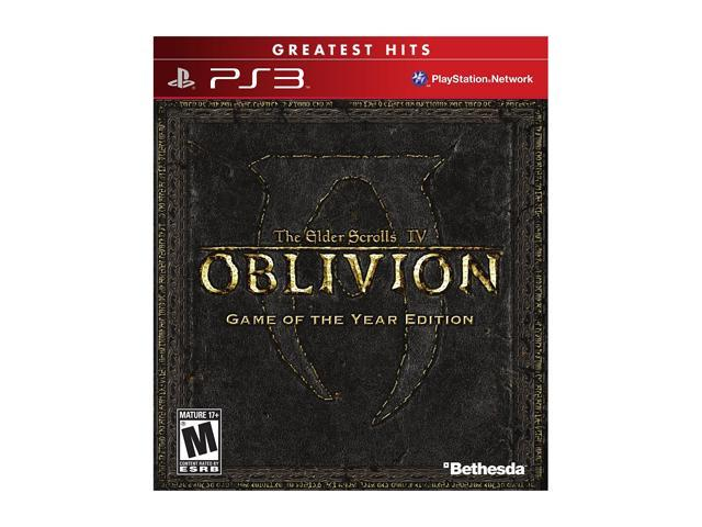 Elder Scrolls IV Oblivion Game of the Year Edition PlayStation 3