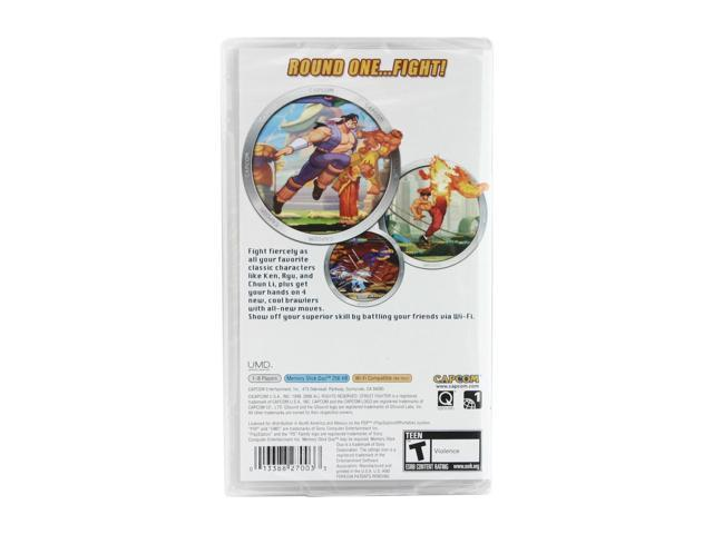 Street Fighter Alpha 3 Max PSP Game CAPCOM