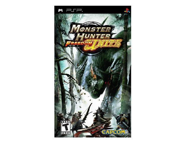 Monster Hunter Freedom Unite PSP Game CAPCOM