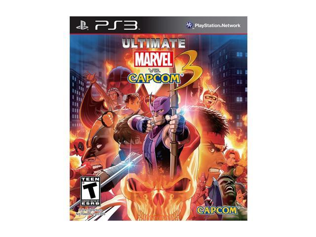 Ultimate Marvel Vs Capcom Playstation3 Game