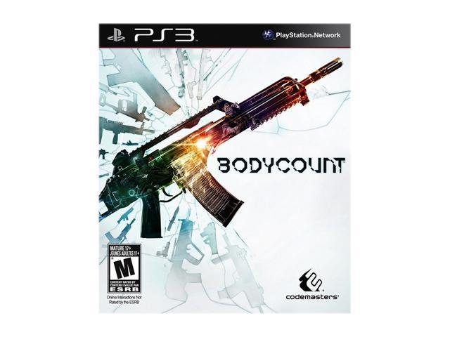 Bodycount Playstation3 Game