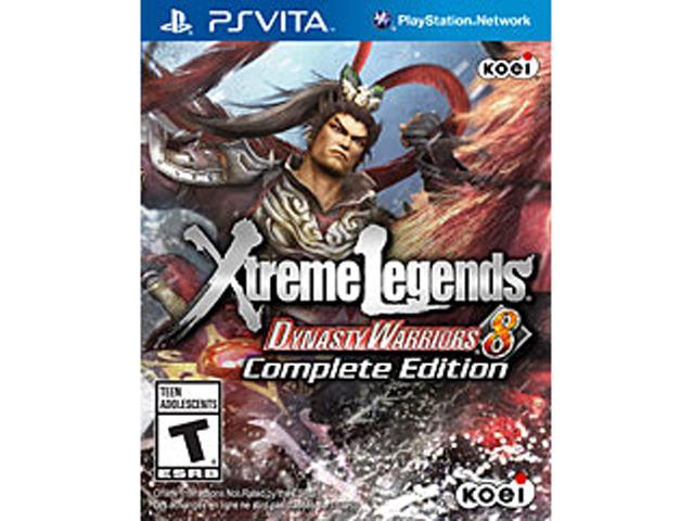 Dynasty Warriors 8: Xtreme Legends Complete Edition PlayStation Vita