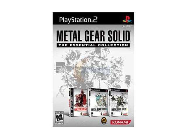 Metal Gear Solid: The Essential Collection Playstation 2 Game KONAMI