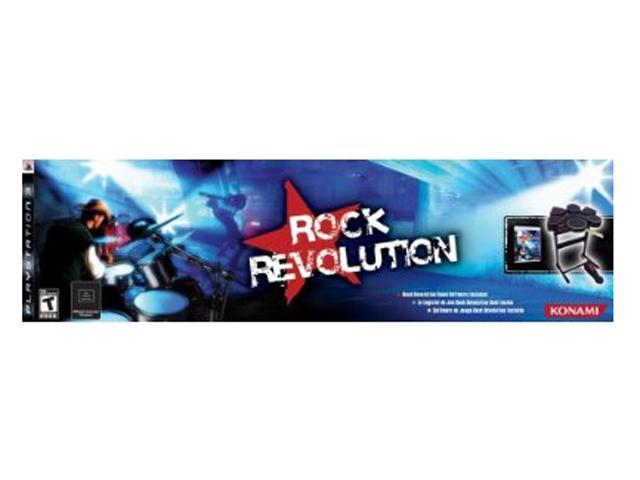 Rock Revolution w/Drum Kit Playstation3 Game