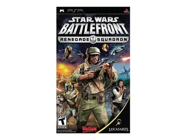 Star Wars Battlefront: Renegade Squadron PSP Game LUCASARTS